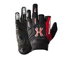 Hk Army Pro Gloves Lava Red Black paintball gloves New - Xl X-Lg X-Large
