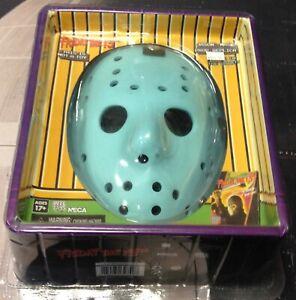 """NECA Jason """"Friday The 13th NES"""" Mask Prop Replica *Rare* *Glow-in-The Dark* New"""