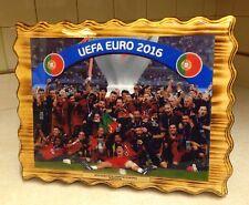 Handmade Pine Plaque UEFA Euro 2016 Champions (Portugal Team)