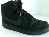 NIKE COURT BOROUGH MID BLACK BASKETBALL SNEAKERS BV2616-001 SIZE 8