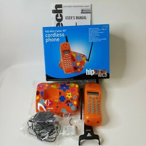 Vtech 900 MHz Caller ID Cordless Phone Hiphues Wild New Open Box