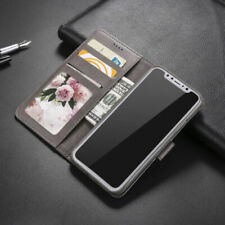 Leather Wallet Magnetic Flip Case Cover Stand For iPhone SE 5S 6 7 8 Plus XS MAX