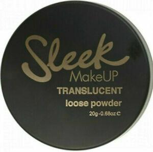 sleek make up translucent loose powder light