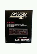 Retro Digital Classic Car Stereo radio Cassette Player  80s & 90s NOS Brand new