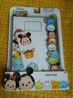 New Disney Tsum Tsum Journal Diary With Sticker Sheet Stationary Gift Set