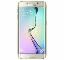 "SAMSUNG Galaxy S6 Bordo + Android Senza Sim 64GB Smartphone 5.7"" in oro (260894)"