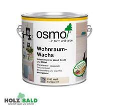 Osmo Wohnraum-Wachs weiß deckend/ transparent seidenmatt für innen 0,75 l/ 2,5 l