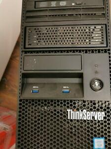 Lenovo TS 140 Server Windows 2012, Xeon E3, 32GB RAM 3x 1TB SATA, DVD-R, RS232