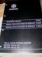PIAGGIO ENGINE 150cc (VESTA ET4)  SERVICE STATION MANUAL