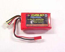 Batterie LiPo 11,1v 3S 1050mAh à 3 cellules 20C pour Modélisme Hélicoptères ou