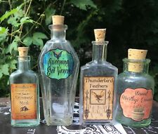 LABELS ONLY Halloween Apothecary Potion Bottles Fantastic Beasts Party Prop DIY
