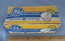 G-E General Electric 6- #965 Flashlight 9.84V .5A Lamps Yellow NOS New Old Stock