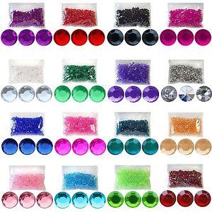 Diamante Table Decorations Diamonte Wedding Party Confetti Crystals Gems