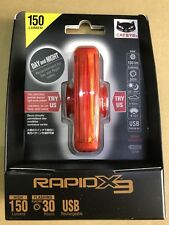 CATEYE RAPID X3 150-Lumens Bicycle Rear Tail Light taillight RED