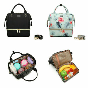 Multi Purpose Mummy Lunch Bag Baby Changing Picnic Nappy Backpack Shoulder Bag