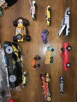 Vintage Toy Lot Of  Match Box Majorette Corgi Bumble Bee 12 Cars And Truck Toys