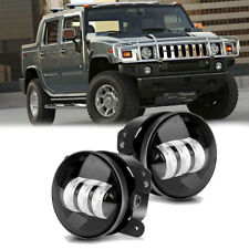 Fit Hummer H2 2004-2009 2X 4 Inch LED Driving Fog Light 6000K IP68