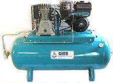 GIEB Kompressor Kompressoren 660/270-10 Bar,Benzinmotor 7,09 KW  Gasregulierung