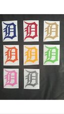 Detroit Tigers Baseball Old English D MLB 2018 Yeti Cup Vinyl Decal Sticker