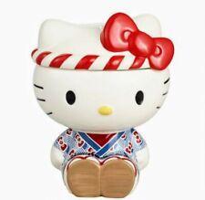 Hello Kitty Cookie Jar Ceramic Omatsuri Sanrio Limited Edition