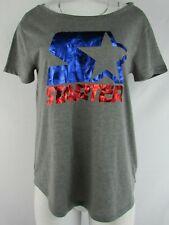 Women's Gray Starter Short Sleeve T-Shirt