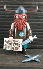 Playmobil 1 Figure How To Train Your Dragon Rare Accessories Rare 9243 Viking