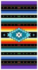 New Large Monterey Southwest Bath Beach Pool Gift Towel Stripes Aztec NIP SOFT