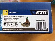 Watts Brass 1 In Water Pressure Reducing Valve
