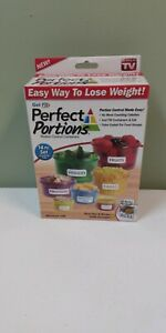 Get Fit Perfect Portion Control Containers 'As Seen on TV'
