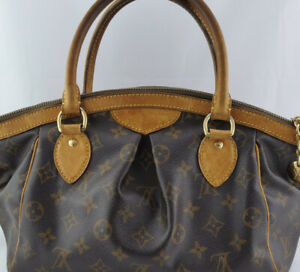 Louis Vuitton Tivoli PM Shoulder Hand Bag Purse Brown Monogram VI2088