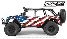 Axial SCX10 Rubicon or CRC Edition Body Graphic Wrap Skin- Merica'