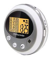 Alecto Pastillero (LCD iluminación/5 Compartimentos/5 tiempos de alarma ajustables)