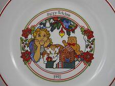 "1992 Happy Holidays Corelle Le Collector Christmas Plate A Child'S Faith 10""Usa"