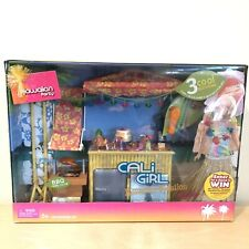 Barbie Cali Girl Hawaiian Party Vacation Playset G9060 2005 New In Box