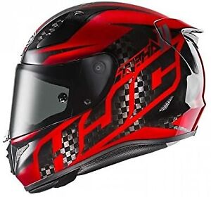 HJC RPHA 11 Lowin Carbon Red Full Face Sports Motorcycle helmet Size L