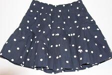 NWT ABERCROMBIE by Hollister Womens Polka Dot Pleated Mini Skirt