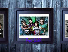 PIERCE THE VEIL SIGNED FRAMED & MOUNTED 10x8 REPRO PHOTO PRINT