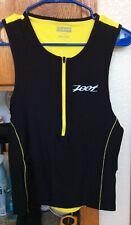 Zoot Men's M Triathlon Top Black/yellow Retails New for $65