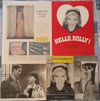 Ginger Rogers Vintage Memorabilia 1940's To 60's Five Great Items Free Shipping