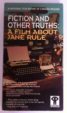 Fiction and Other Truths: A Film About Jane Rule VHS NFB Documentary VERY RARE