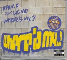 ADAM F ft LIL'MO - Where's my...? CDM 4TR Enh Garage House 2002 UK