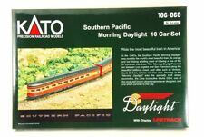 KATO N-Scale 106-060 Southern Pacific Morning Daylight 10 Car Set made in JAPAN