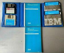 IBM Dos.30 Manuale Floppy PC Retro Vintage IBM Anni 80 Danimarca