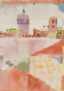 Paul Klee Abstract A3 size 29.7x42cm QUALITY Decor Canvas Print Poster Unframed