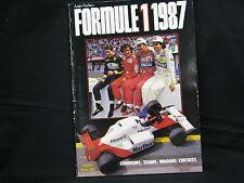 Book Formule 1 1987 door Anjes Verhey (Nederlands)