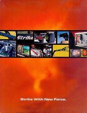 Oshkosh Striker Truck Feuerwehr Prospekt 2001 brochure fire truck engine Lkw USA