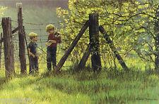 Robert BATEMAN Tadpole Time LE Giclee Canvas art Alan John 2 son's of the artist