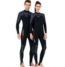 Men Women 1.5mm Neoprene Diving Suits Scuba Snorkeling Jump Surf Swim Wetsuits