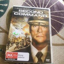 JEAN-CLAUDE VAN DAMME, SECOND IN COMMAND DVD