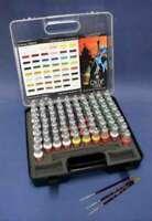 Vallejo Acrylic 17 ML. Paints Game Color Paint Set with Plastic S 8429551721721
